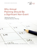 Annual Planning