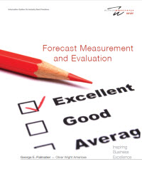 Forecast Measurement and Evaluation White Paper